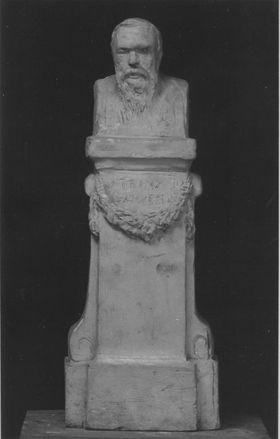 Bozzetto des Denkmals für den Kaufmann und Mäzen Franz Schütte in Bremen