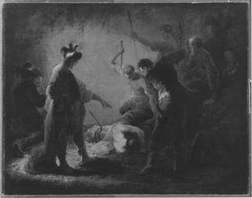 Die Ermordung des hl. Severus