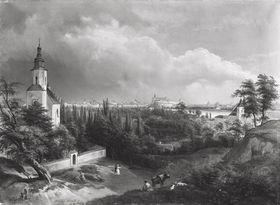 Blick auf Krakau