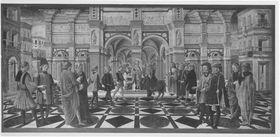 Das Eselswunder des hl. Antonius von Padua