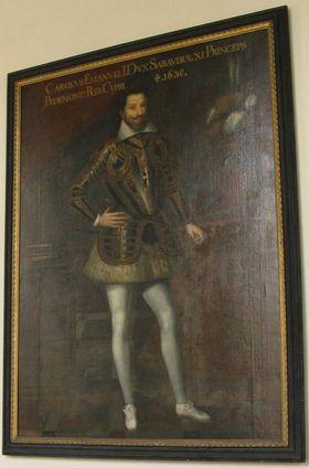 Bildnis des Karl Emanuel I. von Savoyen (1562 - 1630)