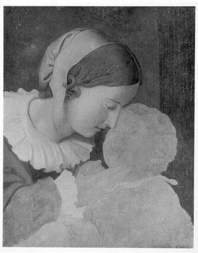 Nina Overbeck mit Sohn Alfons