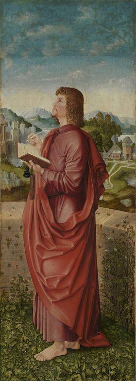 Universitätsaltar: Hl. Johannes Ev. Rückseite: Hl. Margaretha