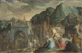 Triumphzug des Marius über Jugurtha
