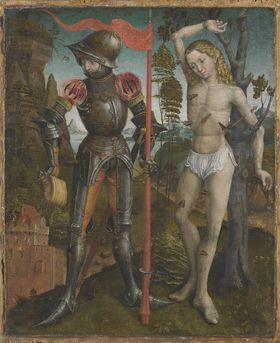 Die hll. Florian und Sebastian