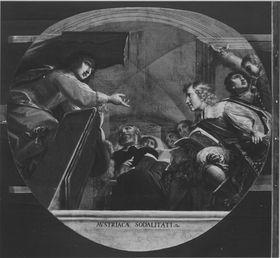 Kurprinz Maximilian und Erzherzog Ferdinand als Studenten in Ingolstadt