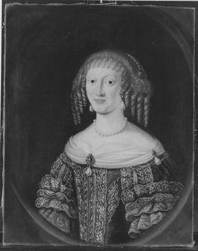 Bildnis der Elisabeth Amalie Magdalena von Hessen-Darmstadt (1635-1709), Gemahlin des Kurfürsten Philipp Wilhelm von der Pfalz-Neuburg (?)
