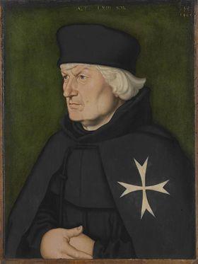 Bildnis des Straßburger Johanniterkomturs Balthasar Gerhardi