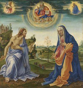 Die Fürbitte Christi und Mariae