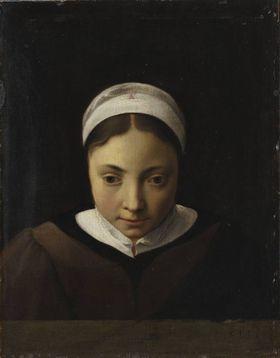 Brustbild eines jungen Mädchens