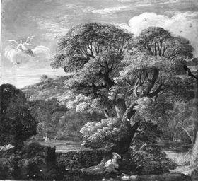 Landschaft mit Hagar