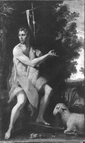 Johannes der Täufer mit Lamm