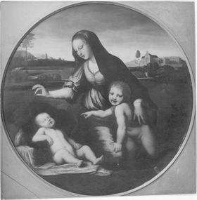 Madonna mit dem Schleier