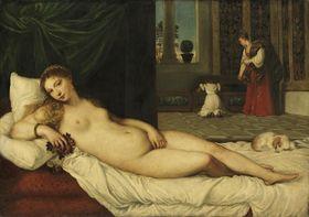 Venus von Urbino (nach Tizian)
