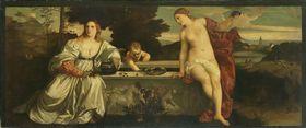 Himmlische und irdische Liebe (nach Tizian)