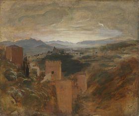 Die Vega von Granada