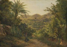 Ansicht von Casamicciola auf der Insel Ischia