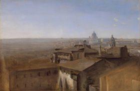 Blick von der Villa Malta auf Sankt Peter