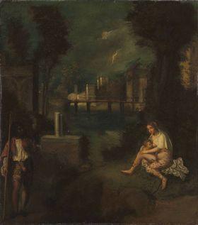 Das Gewitter (nach Giorgione)