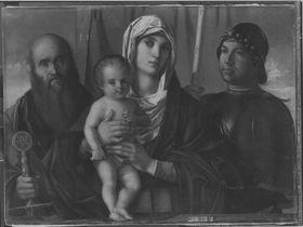 Madonna mit Heiligen (nach Bellini)