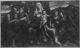 Sacra Conversazione (nach Bonifazio Veronese)