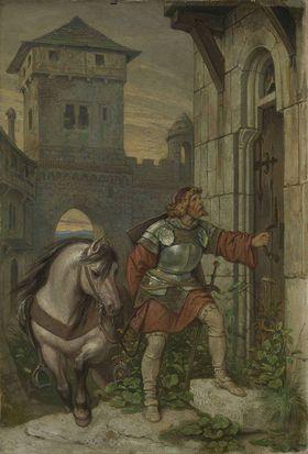 Heimkehrender Ritter
