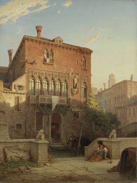 Der ehemalige Palazzo Moro in Venedig