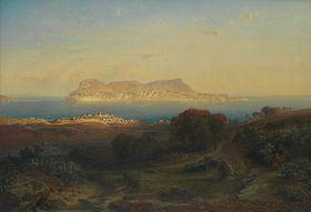 Ansicht von Gibraltar