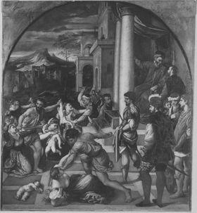 Der Kindermord zu Betlehem (nach Bonifazio Veronese)