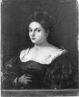 Bildnis einer Frau (angeblich nach Giorgione)
