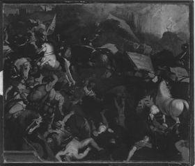 Die Schlacht von Cadore (nach Tizian)