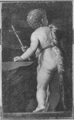 Johannes der Täufer als Kind