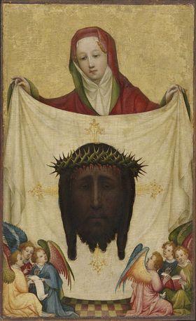 Hl. Veronika mit dem Schweißtuch Christi