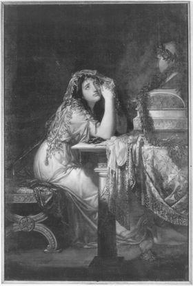 Die trauernde Cornelia
