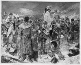 Trümmer der Großen Armee 1812