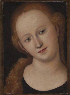"""Kopf der Maria (""""Rotblondes Mädchen"""")"""