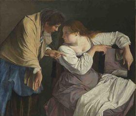 Martha tadelt ihre Schwester Maria