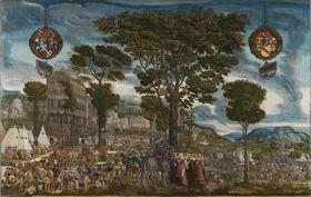 Historienzyklus: Cloelia vor Porsenna
