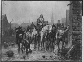 Szene aus dem Dreißigjährigen Krieg