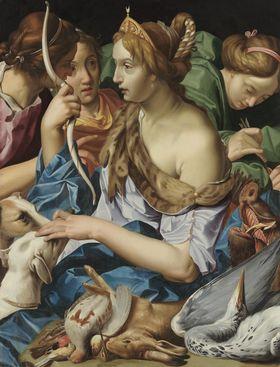 Diana mit ihren Nymphen