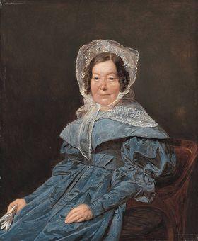 Bildnis einer Dame aus der Familie der Edlen von Managetta und Lerchenau (Katharina Jackson, geb. Bonin-Ghibaud?)