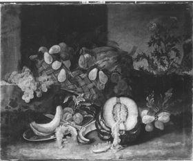 Obst- und Gemüsestillleben