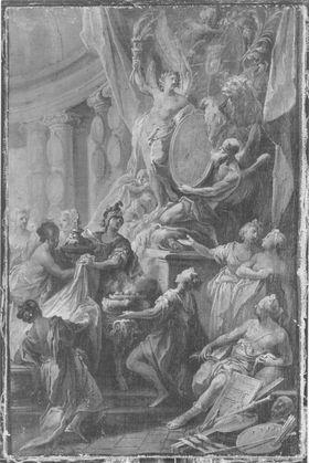 Huldigung an Kurfürst Maximilian III. Joseph von Bayern