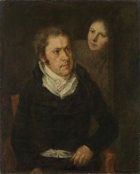 Bildnis Luigi Tambosi mit Tochter