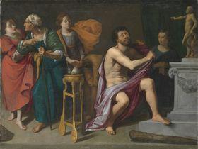 Herkules im Nessusgewand