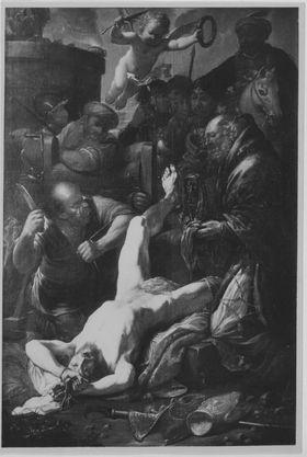 Martyrium des hl. Erasmus
