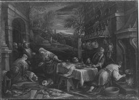 Christus bei Maria und Martha