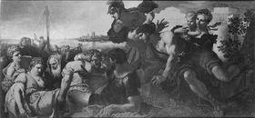 Die Rettung der Agrippina, der Mutter Neros