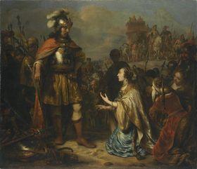 Alexander und die Frauen des Darius