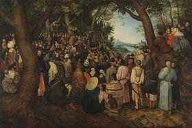 Predigt Johannes des Täufers (nach Pieter Bruegel d. Ä.)